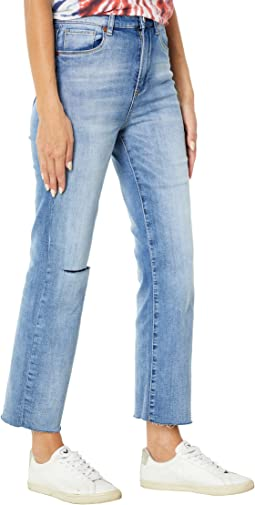Sustainable Baxter Rib-Cage Denim Pants in Love To See It