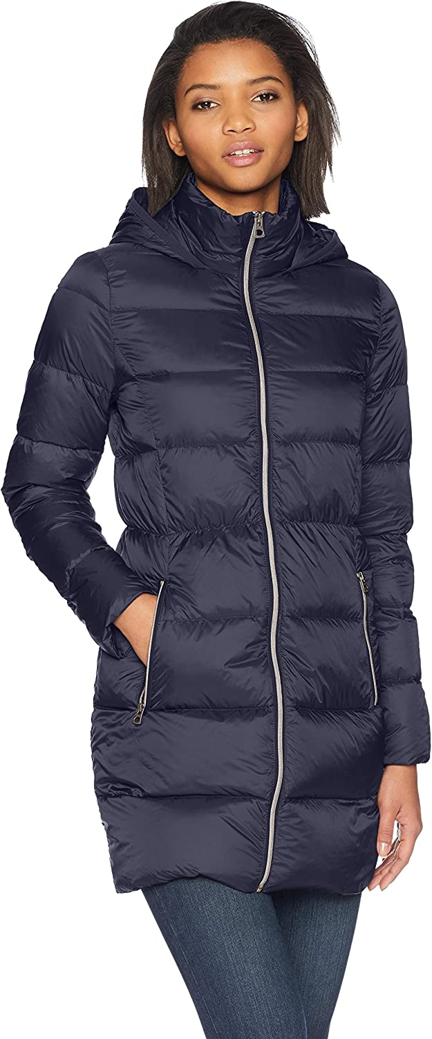 Lucky Brand Women's 3 4 Lightweight Packable Down Coat