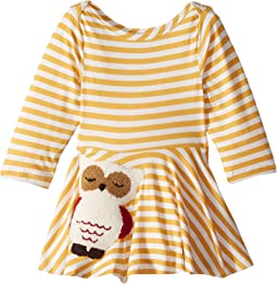 Owl Skater Dress (Infant)