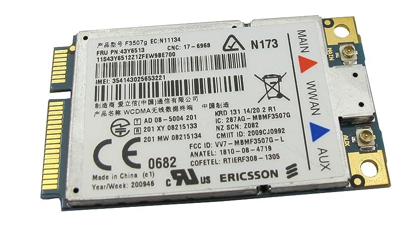 IBM ThinkPad /Lenovo純正専用 3G F3507g ERICSSON WWAN カードFRU:43Y6513