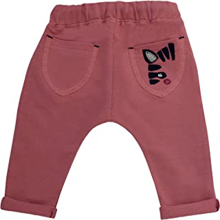 Karen Bebé Ropa para Bebés Unisexo Niños Niñas Pantalones de Chándal Patrones de Colores Marrón Mostaza Azul Jeans Gris Ma...