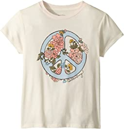 Peace Fleur T-Shirt (Little Kids/Big Kids)