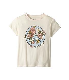 Peace Fleur T-Shirt (Little Kids/Big Kids)