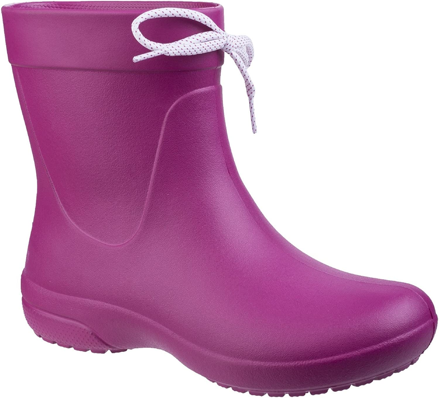 Crocs Womens Ladies Freesail Shorty Rain Boots (5 UK, Berry)