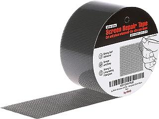 by.RHO XL(15FT) Screen Repair Tape. Screen Repair Kit for Window Screen and Screen Door Silver-Gray SCREENTAPE_GRXL