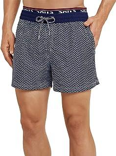 Schiesser Men's Aqua Beach Shorts