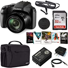 Panasonic Lumix DC-FZ80 4K Digital Camera, 18.1 Megapixel, 60x Zoom 20-1200mm Lens Bundle with Bag, 32GB SD Card, Corel PC...