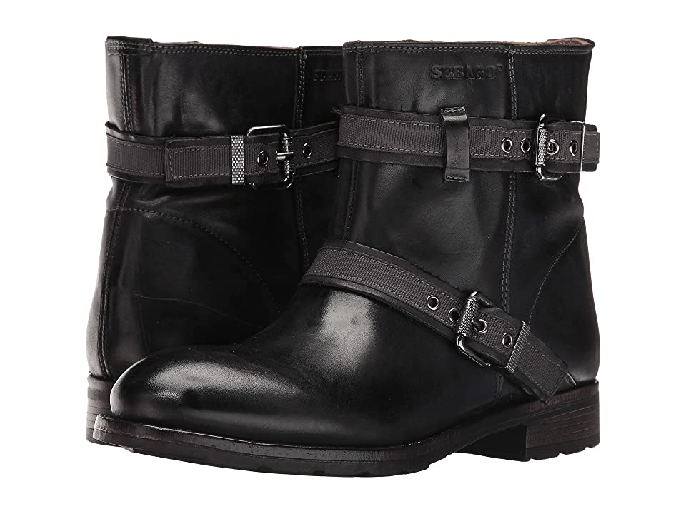 Sebago Laney Mid Boot (Black Leather) Women