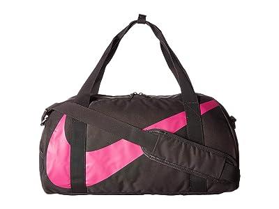 Nike Kids Gym Club Duffel Bag (Little Kids/Big Kids) (Thunder Grey/Thunder Grey/Active Fuchsia) Duffel Bags