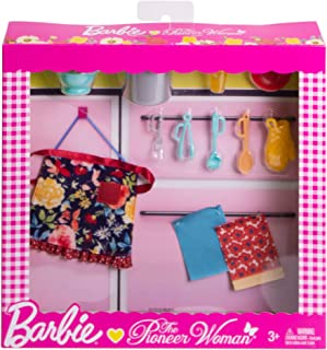 Barbie as Pioneer Woman Ree Drummond Pasta Kitchen Cooking Accessory Set