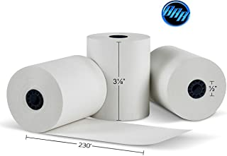 """3-1/8"""" x230' (50 POS Rolls) Bpa Free Point-Of-Sale Thermal Receipt Printer Paper -318230 From BuyRegisterRolls"""