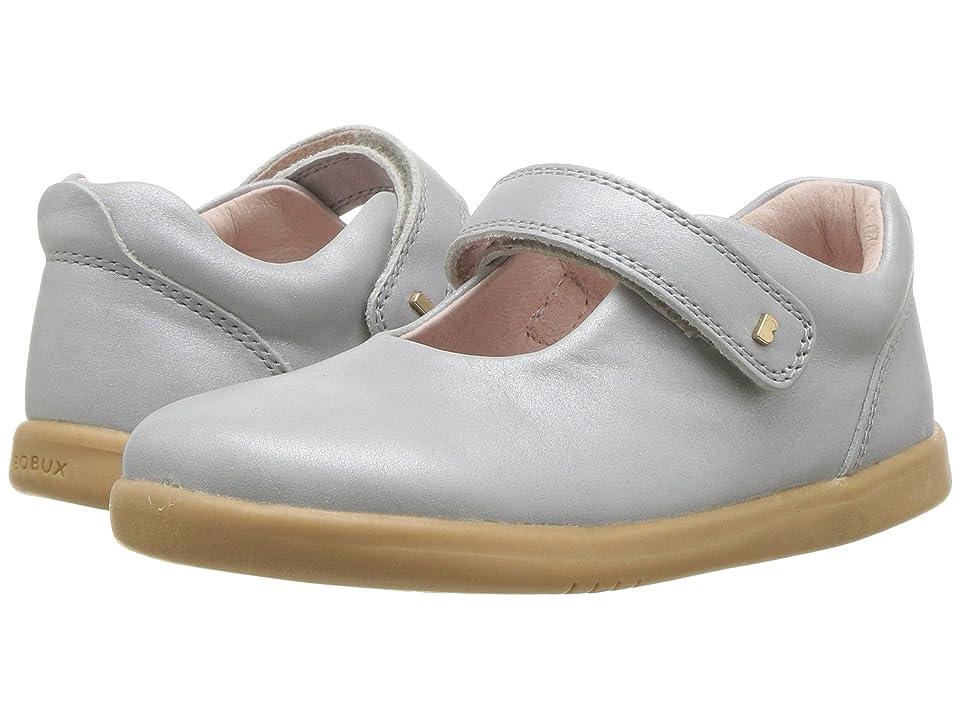 Bobux Kids I-Walk Delight Mary Jane (Toddler) (Silver Shimmer) Girl