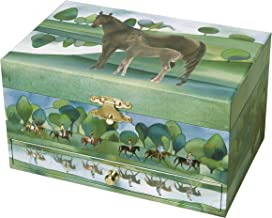Trousselier Horses Normandy Musical Jewellery Box