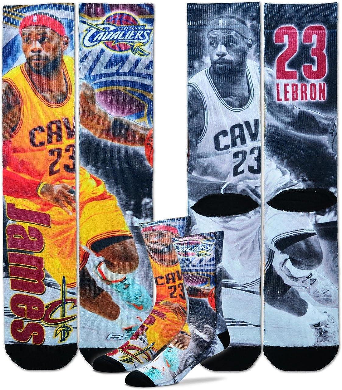 San Antonio Mall Cleveland Cavaliers NBA favorite Drive Crew Lebron Socks James -