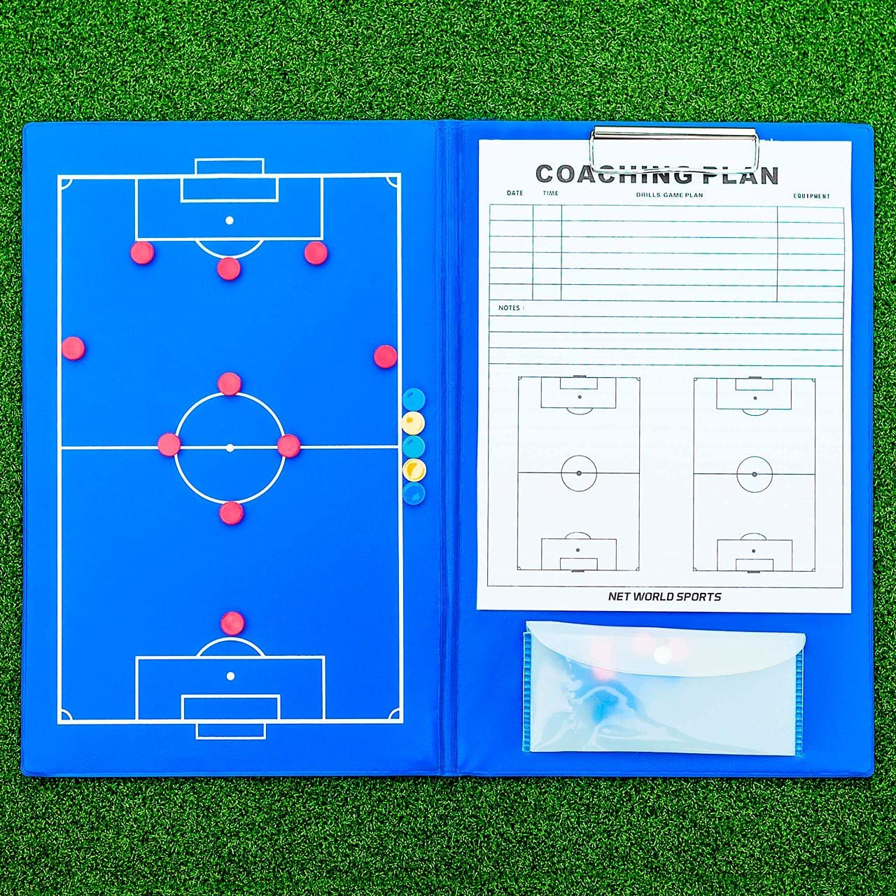 FORZA A4 Magnetic Soccer Tactic Max 53% OFF Coa Spring new work Folder Professional