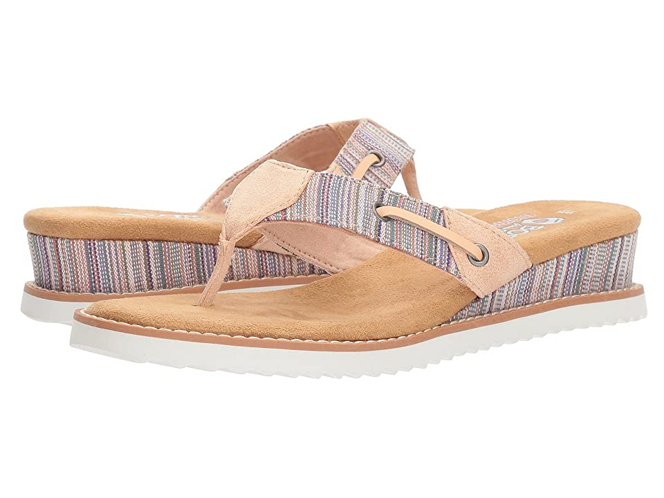 BOBS from SKECHERS Desert Kiss Bohemian (Pink Multi) Women