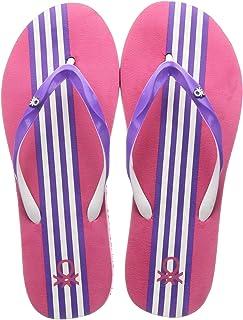 United Colors of Benetton Women's 20p8cffpl555i Flip-Flops