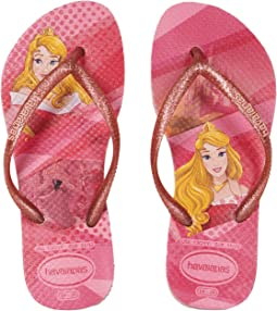 Havaianas Kids Slim Princess Flip Flops (Toddler/Little Kid/Big Kid)