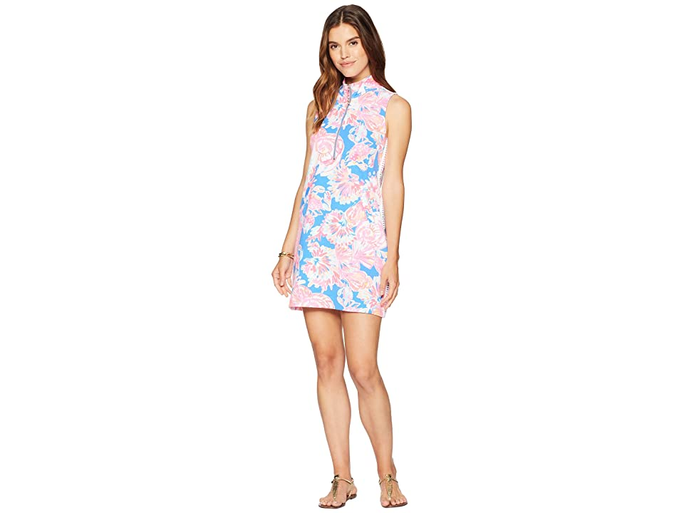Lilly Pulitzer Skipper Sleeveless Dress (Bennet Blue Bay Dreamin) Women