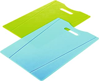 Kuhn Rikon Cutting Board Set, Green/Blue