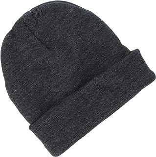 Tek Gear® Men's Thinsulate Cuffed Knit Beanie Hat, in Charcoal Grey (OSFM)