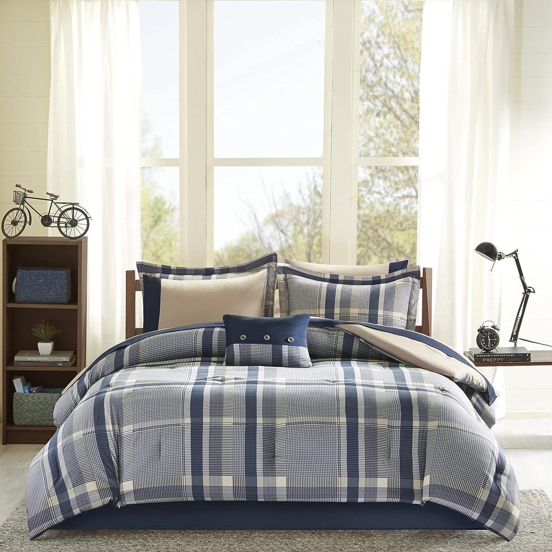 Intelligent Cheap super special price Design ID10-1225 Robbie comforters Navy Twin XL Mu Very popular!
