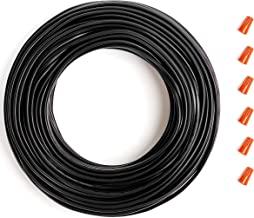 Low Voltage Landscape Lighting Wire - 16/2 Direct Burial Outdoor Cable for LED Garden Lights - 100ft