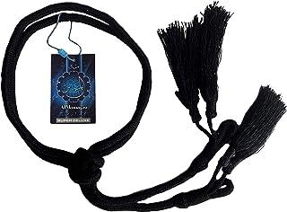 Hamdani Egal Tarboosh Al Wajaha Arab Oqal Igal Aqel Rope Keffiyeh/Shemagh Wrap Arabian Headwear Black