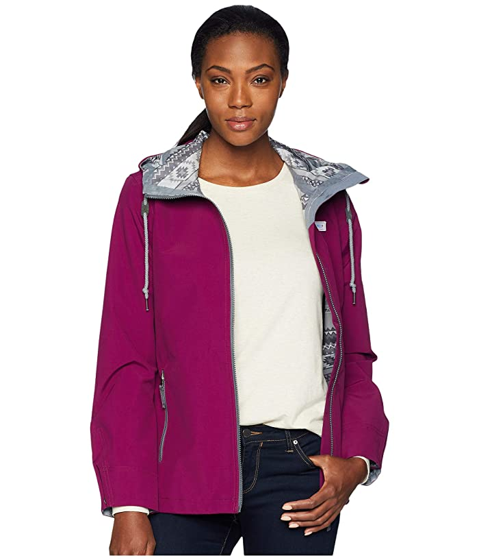 Obermeyer No 4 Shell Jacket (Metal Magenta) Women