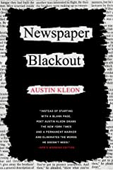 Newspaper Blackout (English Edition) eBook Kindle