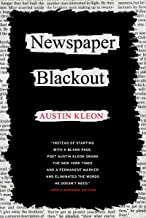Newspaper Blackout (English Edition)