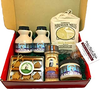 Deluxe Vermont Maple Syrup Gift Box - From Barred Woods Maple Products