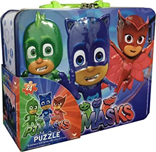 PJ Masks Puzzle in Tin with Handle