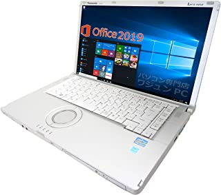 【Microsoft Office 2019搭載】【Win 10搭載】Panasonic CF-B11/第三世代Core i5-3320M 2.6GHz/新品メモリー:16GB/新品SSD:480GB/DVDドライブ搭載/15インチワイド液晶/...