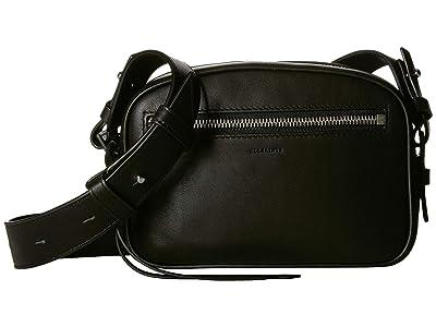 AllSaints Captain Bumbag Crossbody (Black) Handbags