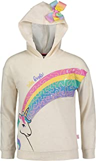 JoJo Siwa Girls Mix and Match: Signature Bow Hoodie Bomber and Jogger