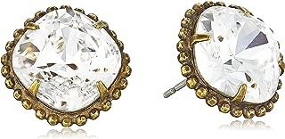 Sorrelli Essentials Cushion-Cut Solitaire Earrings