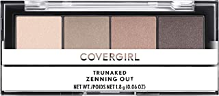 COVERGIRL Covergirl Trunaked Quad Eyeshadow Palette, Zenning Out, Zenning Out, 0.06 Ounce