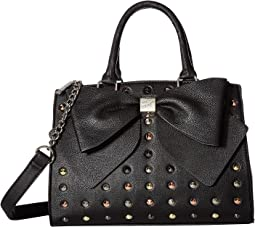 Studded Bow Satchel