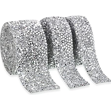 Bling and fabric trimmed edges A9I Bling initials sparkle like crushed diamonds