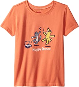 Life is Good Kids Happy Dance Crusher Tee (Toddler)