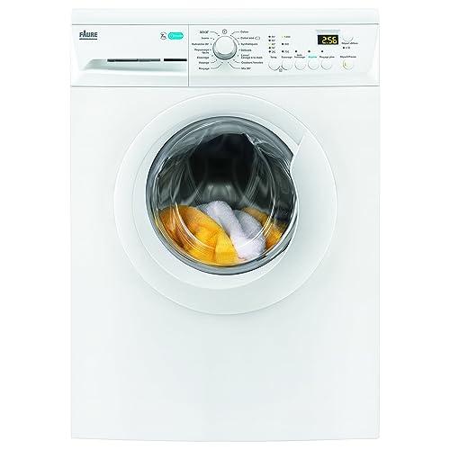 Faure FWF7125PW Autonome Charge avant 7kg 1200tr/min A+++ Blanc machine à laver - Machines à laver (Autonome, Charge avant, Blanc, boutons, Rotatif, Gauche, LCD)