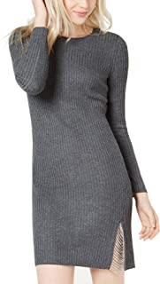 Bar III Women's Swag-Chain Sweater Dress