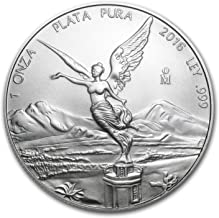 2016 MX Mexico 1 oz Silver Libertad BU 1 OZ Brilliant Uncirculated