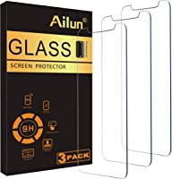 Ailun Screen Protector Compatible for iPhone 11 Pro Max/iPhone Xs Max 3 Pack 6.5 Inch 2019/2018 Release Case Friendly...