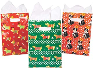 Mini Christmas Dogs Goody Bags - 36 ct