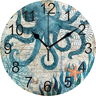 Best octopus wall clock Reviews