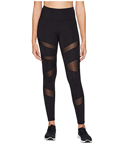 Core 10 Icon Series The Warrior Mesh Leggings (Black) Women