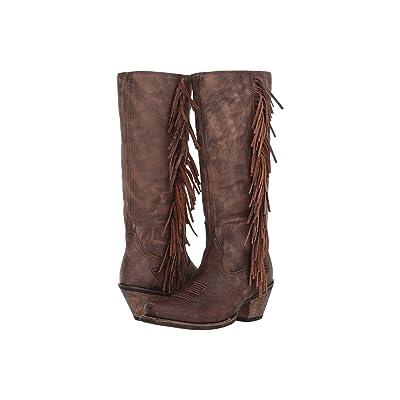 Ariat Leyton (Tack Room Chocolate) Cowboy Boots