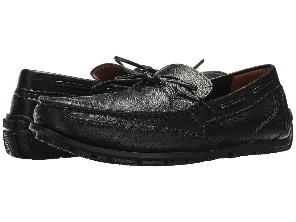 Clarks Benero Edge (Black Leather) Men